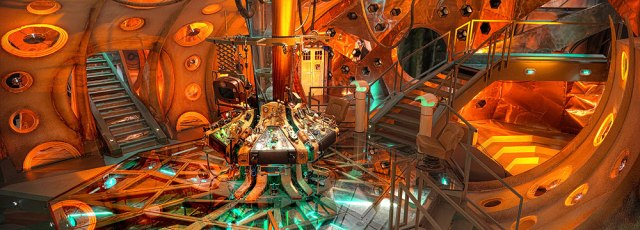 8 TARDIS INTERIOR